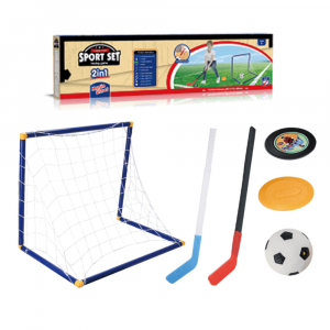 HOCKEY AND FOOTBALL SET FOR KIDS