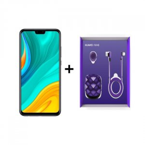 HUAWEI Y8S BLACK + PURPLE COLOR GIFT BOX