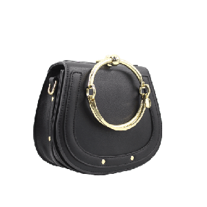 Elegant mini Saddle Handbag