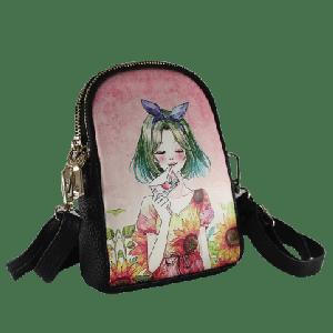 Print Design Shoulder Ladies Bag