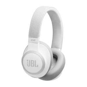 WIRELESS HEADPHONE JBL LIVE 650 BT NC WHITE