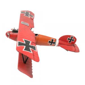 Decorative Plane Home Decor Red
