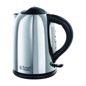KETTLE CHESTER POLISHED STAINLESS STEEL 1.7 LTRS 20420 RUSSELL HOBBS