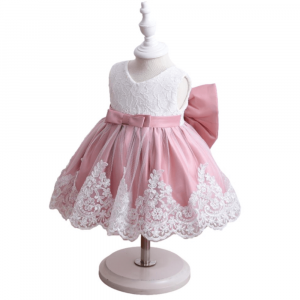 ELEGANT GIRLS DRESS SET WITH GIFT BOX FOR 3 TO 6 Y/O