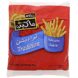 MCCAIN TRADITION FRENCH FRIED POTATOES 750GM