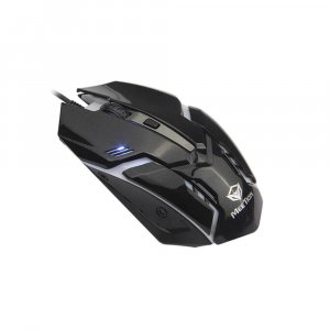 WIRED MOUSE WITH 4 BUTTONS BACKLIT RAINBOW  M371 MEETION