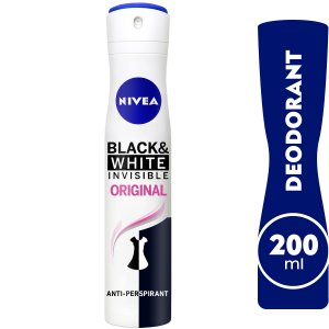 NIVEA BLACK & WHITE DEO WOMEN 200ML