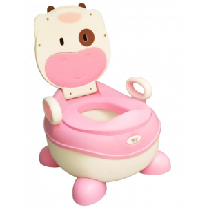 BABY POTTY TRAINING CHAIR HANDLES WITH BRUSH