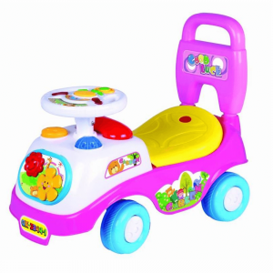 KIDS PUSH CAR WITH MUSIC MULTICOLOR FOR 1 TO 3 Y/O