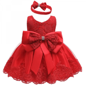 HIGH END GIRLS DRESS SET WITH GIFT BOX FOR 3 TO 6 Y/O