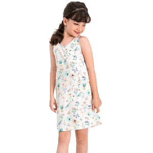 ROLY POLY SUMMER DRESS WHITE