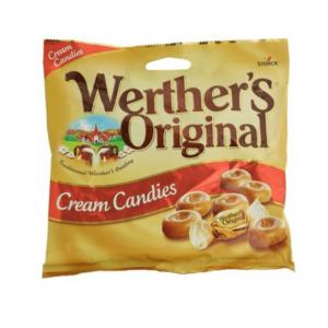 STORCK WERTHERS ORG CREAM CANDIES BAG 150GM