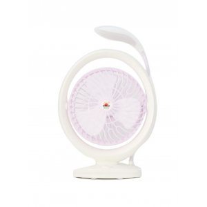 USB RECHARGEABLE FAN WITH LIGHT