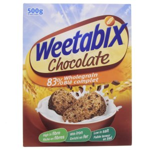 WEETABIX CHOCOLATE 500GM
