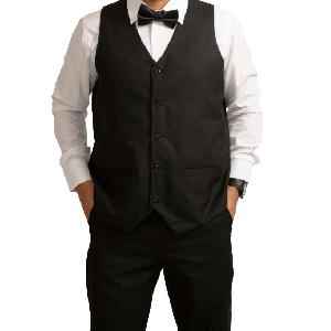 VEST CASUAL WITH 2 FRONT POCKETS