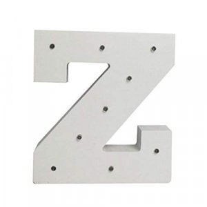 DECORATIVE LIGHT LETTER MODEL 4 - Z
